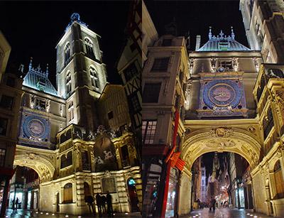 Gros Horloge Rouen