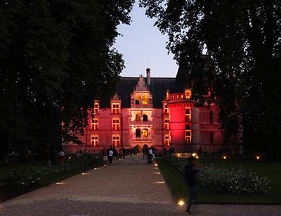 Soirées Château Azay-le-Rideau