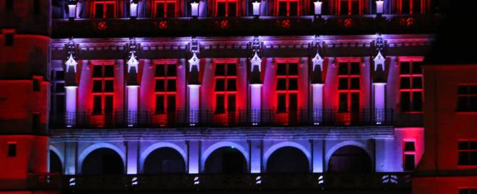 Eclairage architectural Château Amboise