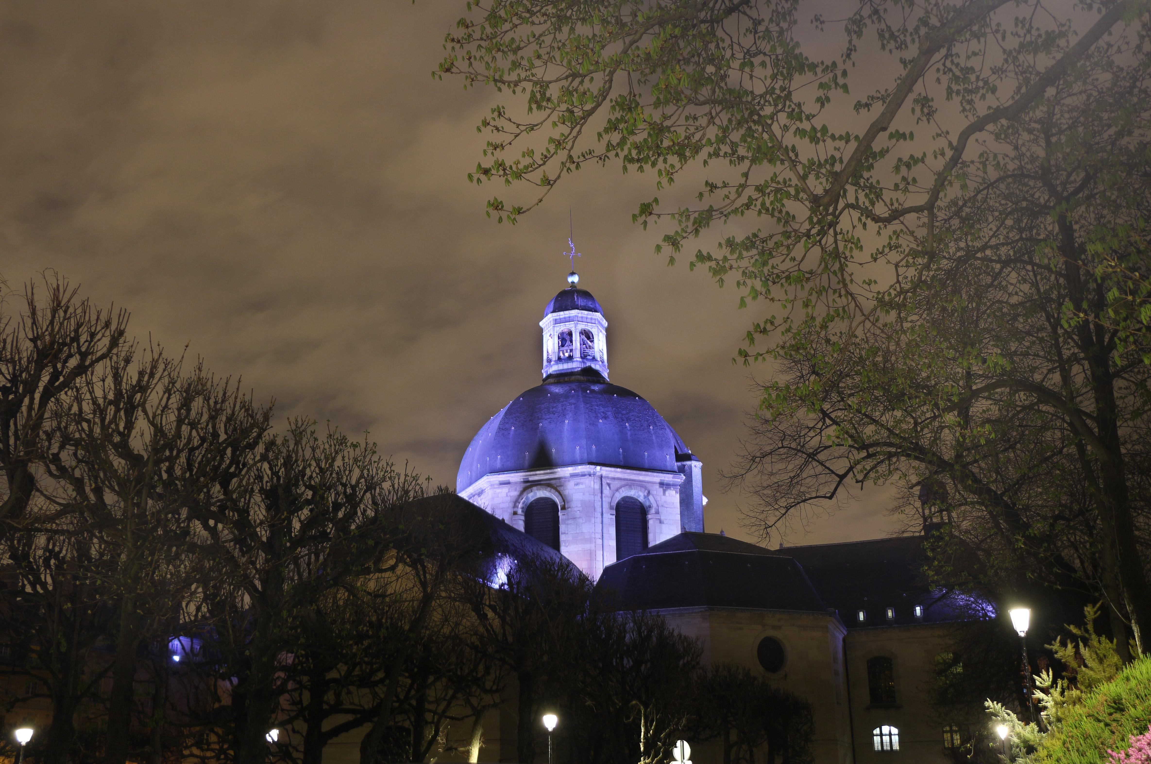 Mise en lumière dôme Chapelle Saint-Louis Pitié Salpêtrière 04