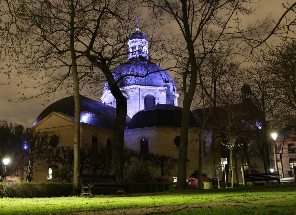 Mise en lumière dôme Chapelle Saint-Louis Pitié Salpêtrière 03