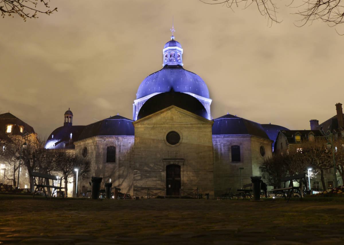 Dôme Chapelle Saint-Louis Pitié Salpêtrière