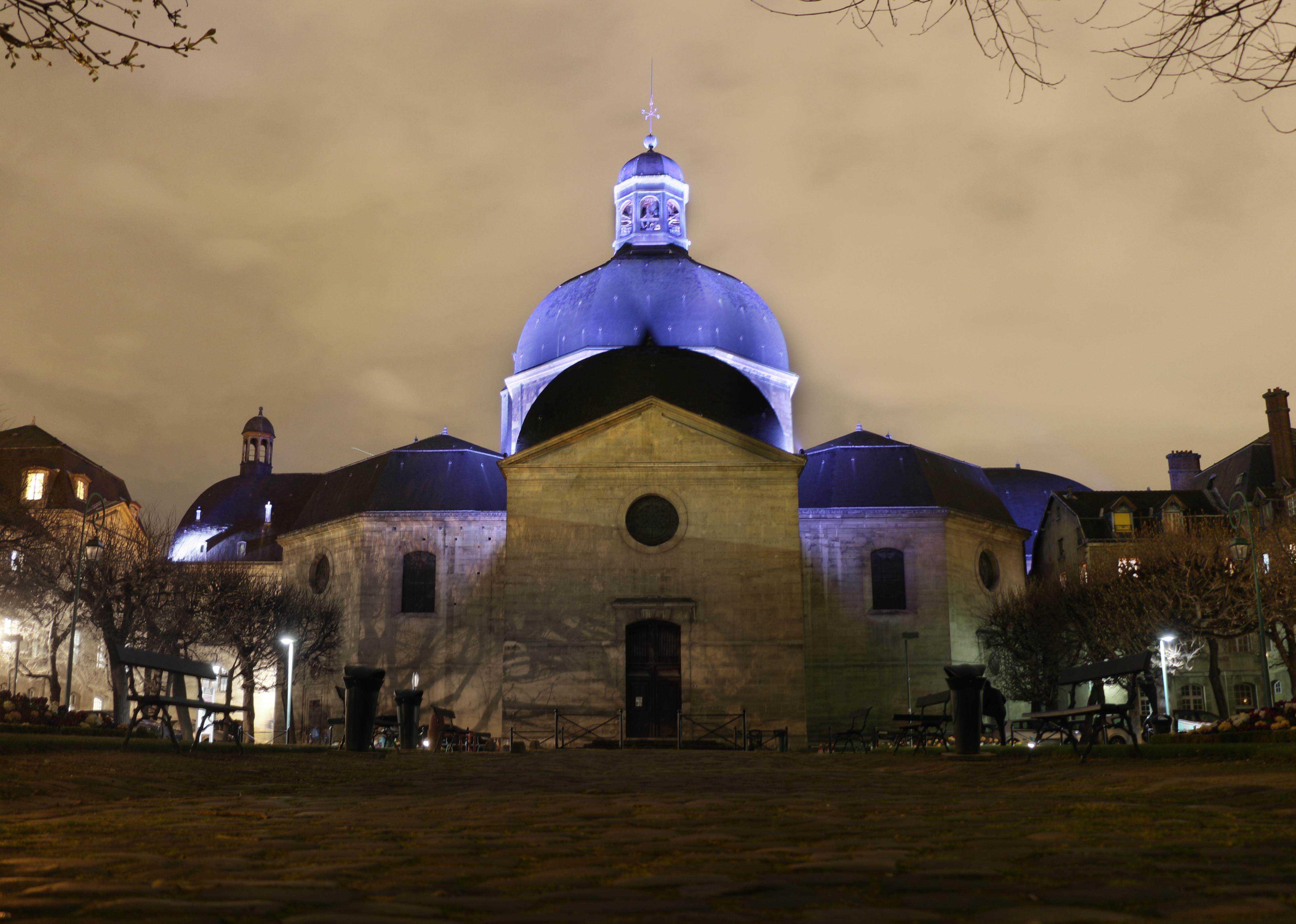 Mise en lumière dôme Chapelle Saint-Louis Pitié Salpêtrière 02