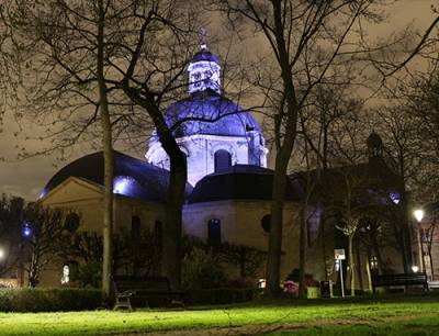 Dôme Chapelle Saint-Louis Pitié Salpêtrière - Neo Light