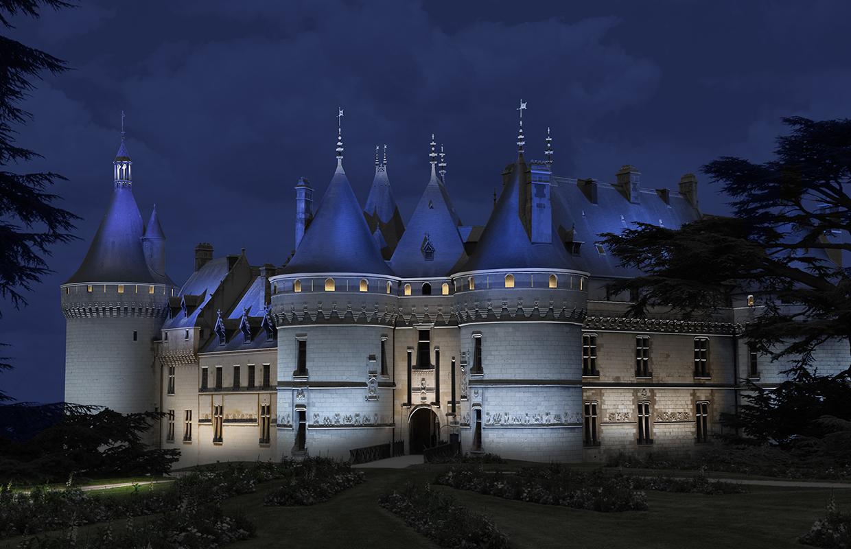 Simulation Château de Chaumont-sur-Loire