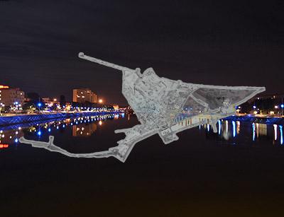 Plan lumière de Boulogne-sur-Mer