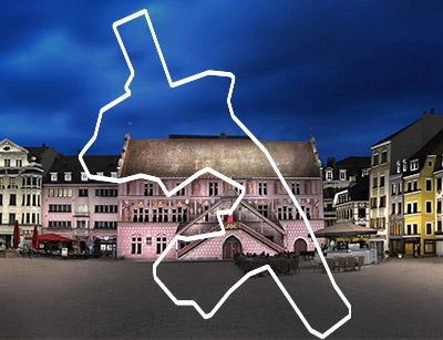 Plan lumière Mulhouse