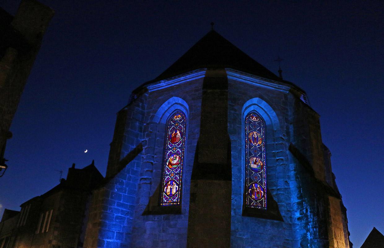 Illumination évènementielle Noël Guérande