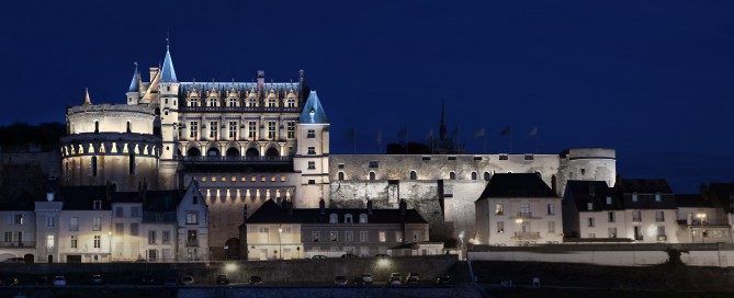 Simulation Eclairage architectural Château Amboise